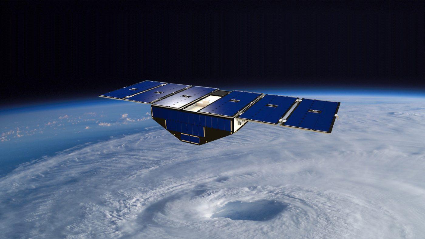 CYGNSS microsatellite